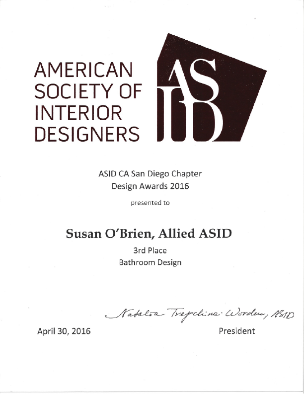 suzi obrien is an award winning interior designer who specializes in sustainable design her clients delight in her process which helps them discover and