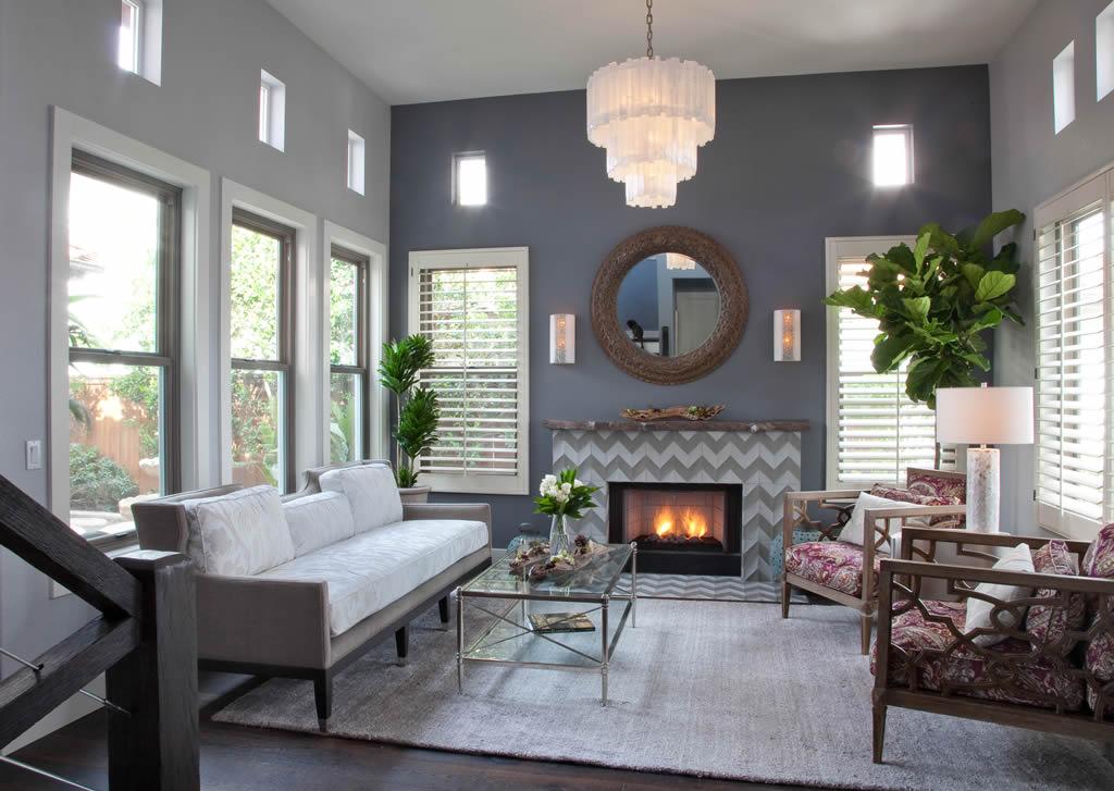 Carlsbad Interior Design - Living Room